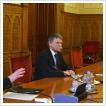 Oktatók és hallgatók parlamenti látogatása
